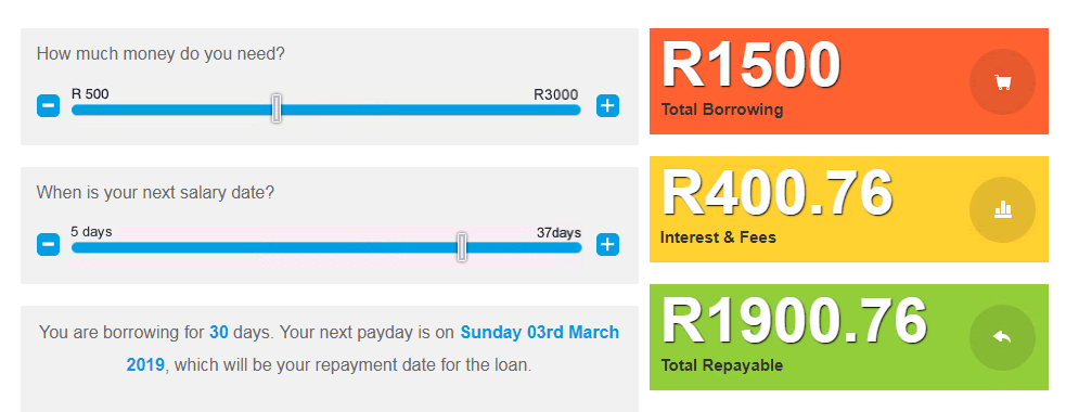 Wanna Loan — Quick Online Payday Loans South Africa