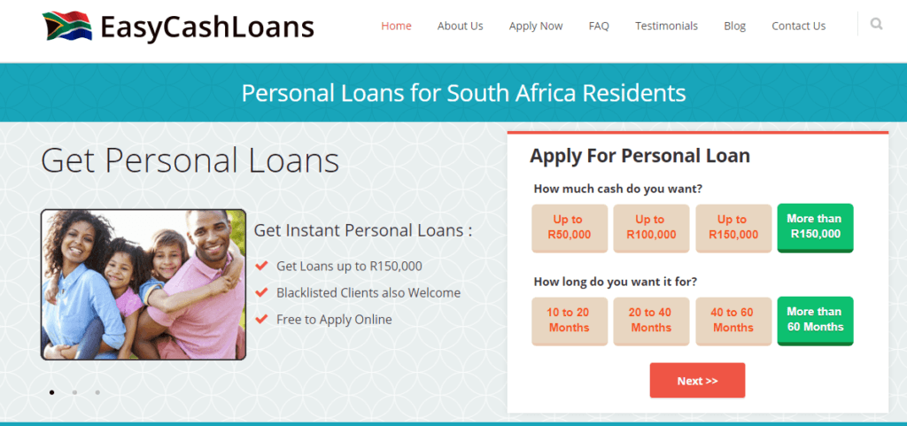 Easy Cash Loans South Africa — IPayLoans
