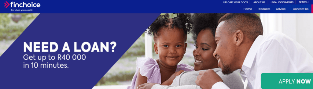 Finchoice Online Loans in South Africa — IPay Loans